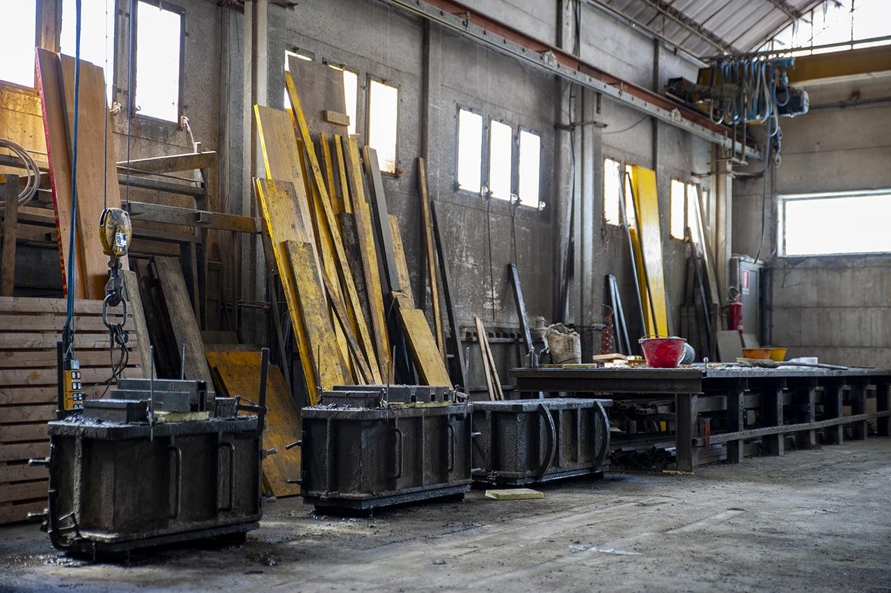 Garanzia prodotti cemento Gfrc