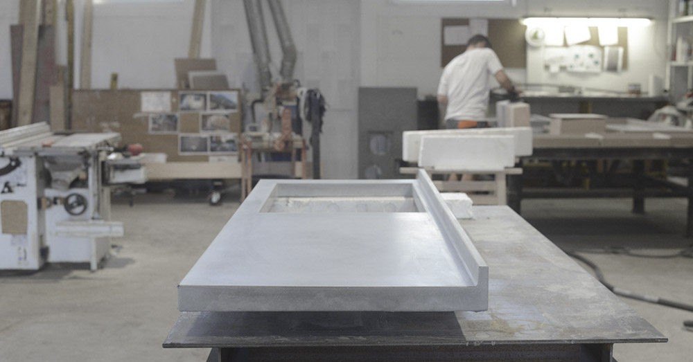 Piano cucina in cemento: come si realizza