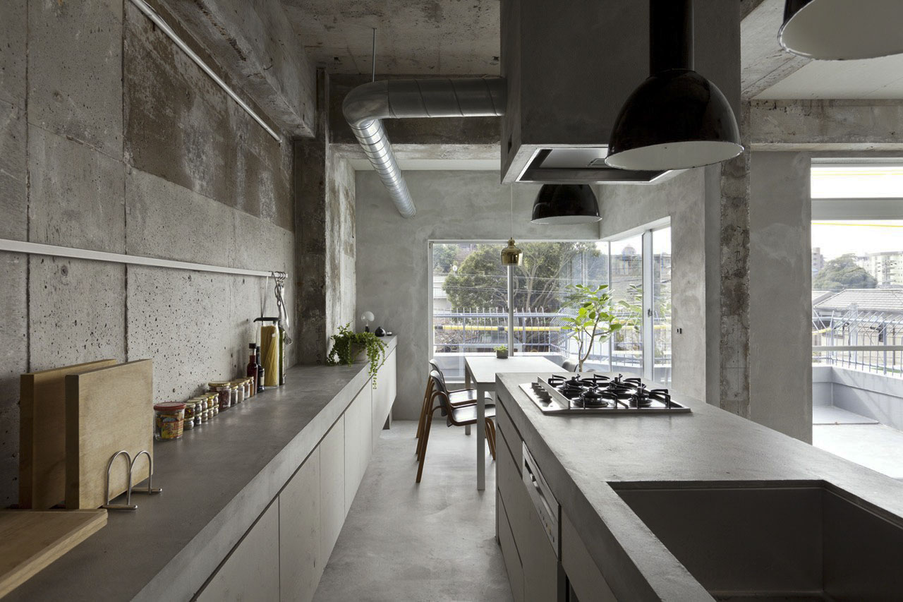 Cemento line home - Piani cucina cemento ...