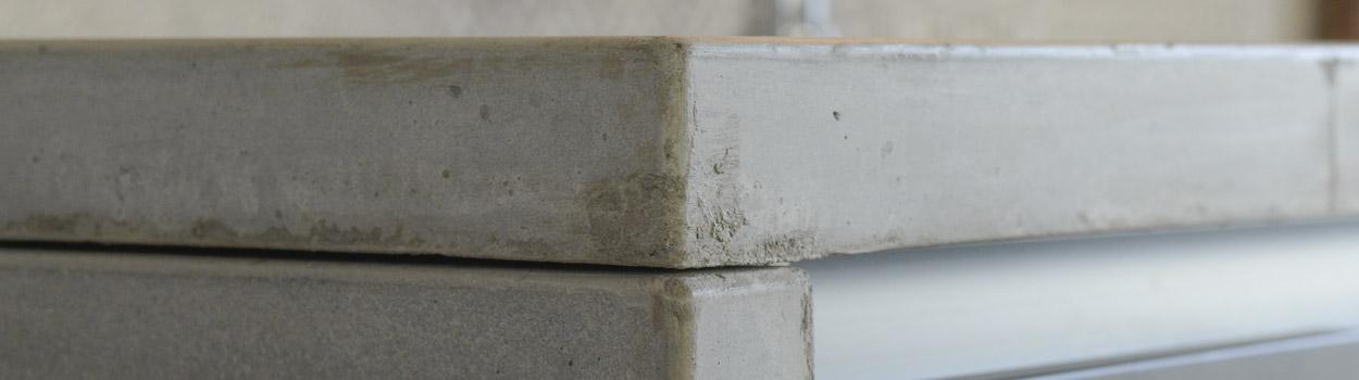 Piano Cucina Cemento - Interno Di Casa - Smepool.com