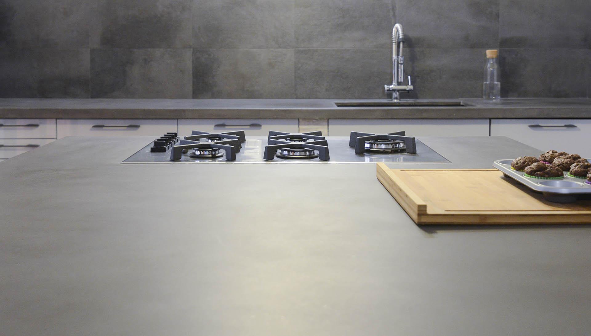 Misure Standard Top Cucina cemento line - piani cucina in cemento made in italy